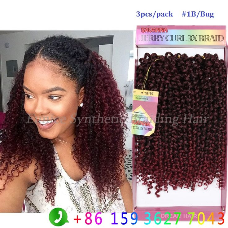 Quality Crochet Hair : Hair freetress kinky Jerry curly Crochet Braids Hair,High Quality hair ...