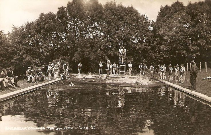 The old swimming pool