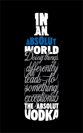 Absolut World.The series of Absolut ads is clever, creative, different, respects the customers intelligence, and is totally focused on building a clear brand image. I may not like some of the executions but I love the overall campaign
