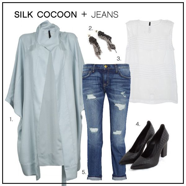 HOW TO WEAR: the Silk Cocoon Coat – Taylor