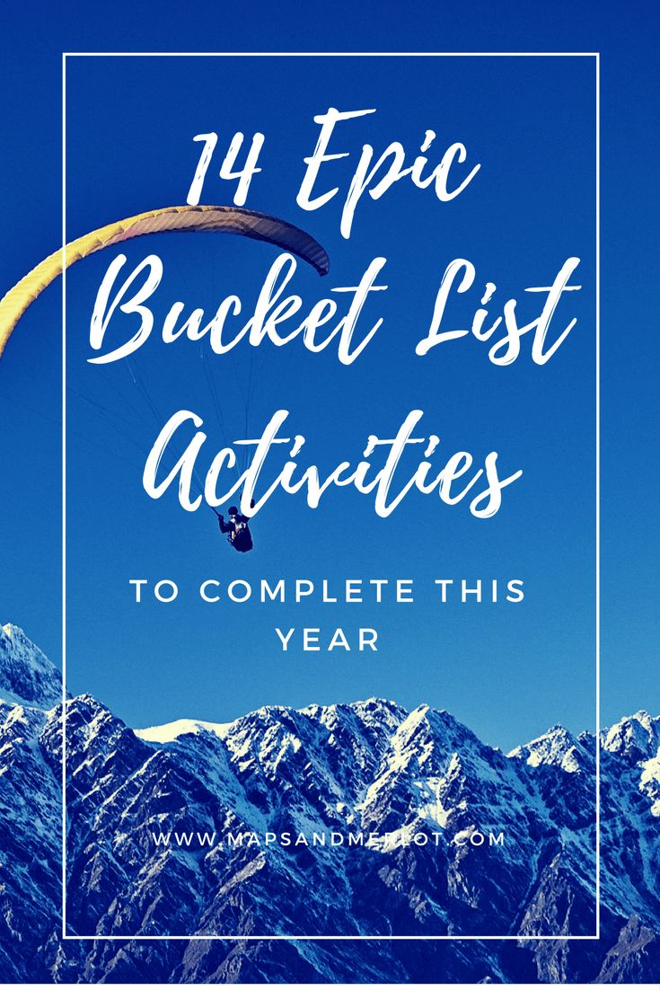 Discover secret bucket list activities around the world! From white water rafting to paragliding, your bucket list is about to grow!