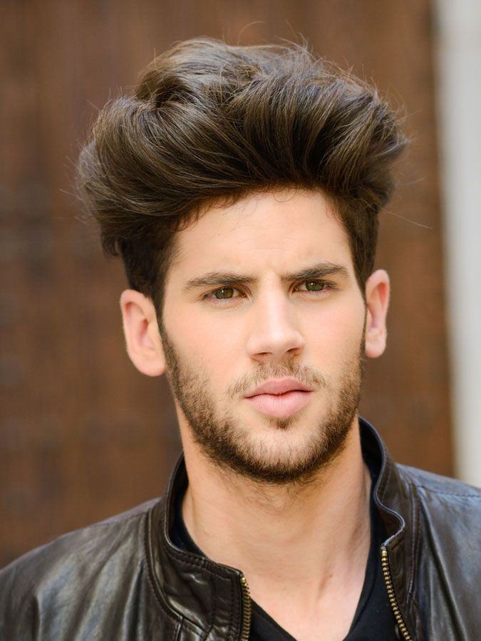 20 Haircuts For Men With Thick Hair High Volume High Volume Brush Up Hairstyle 20 Haircu In 2020 Haircuts For Men Thick Hair Styles Young Mens Hairstyles