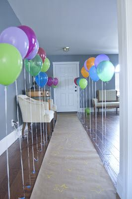 551 east furniture design: super fun blow up & pop balloon birthday party invites: a tutorial (BALLOON PARTY! SO CUTE!)