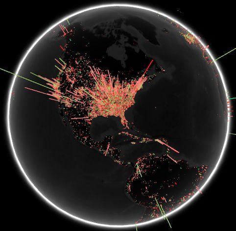Geographic Sentiment Analysis Python Program