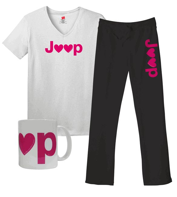All Things Jeep - Jeep Hearts Women's Gift Set