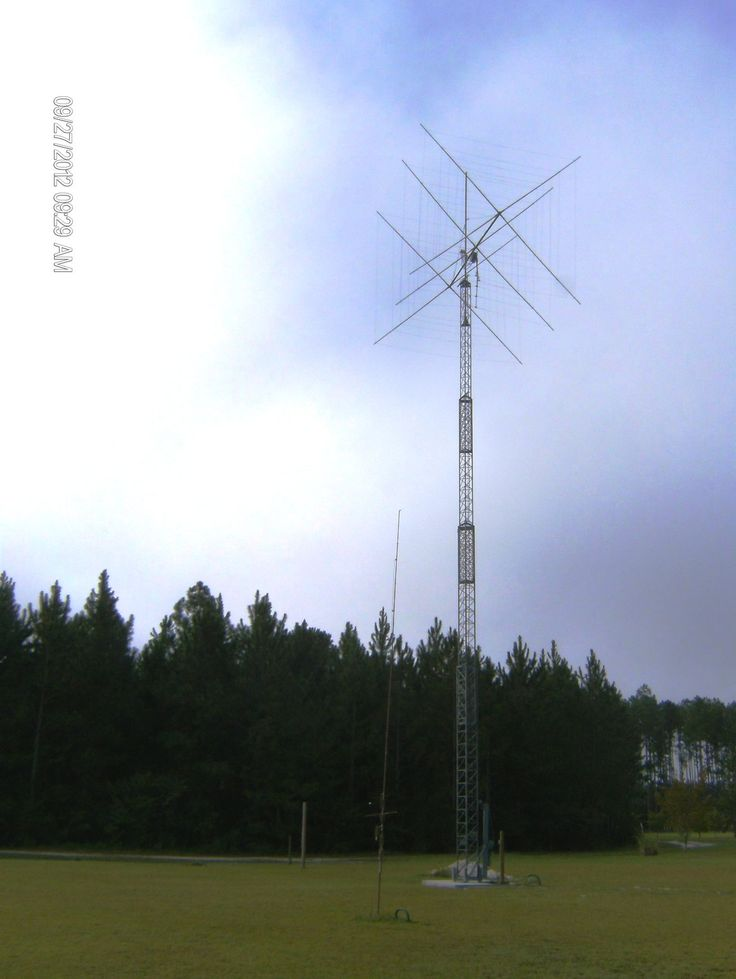 Texas towers amateur radio