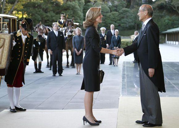 Caroline Kennedy comienza su trabajo como embajadora de Estados Unidos en Japón la semana en la que se celebra el 50 aniversario de la muerte de su padre