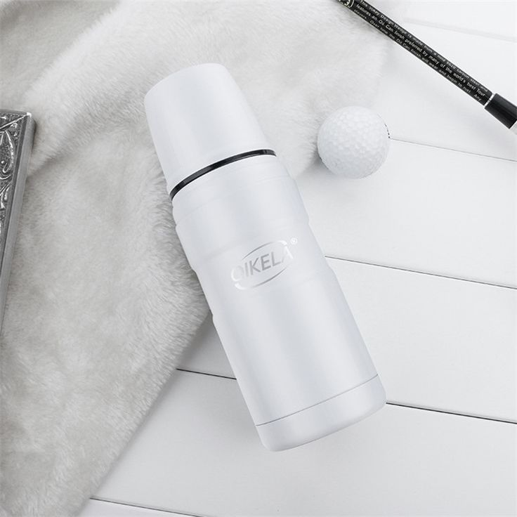 Portable Vacuum Flasks Thermoses Bullet Bottle 360ml Stainless Steel Cup Tea Coffee Bullet Shape Thermos Cup Bottle Gift