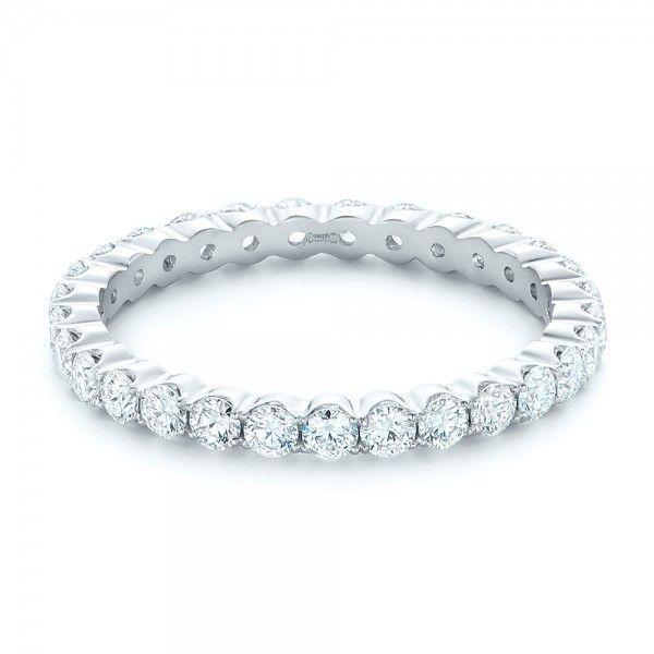 Custom Diamond Eternity Wedding Band