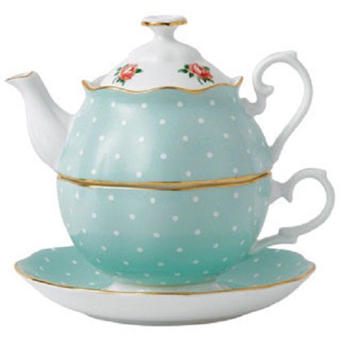 New Country Roses 2 Piece Tea Set - http://teacoffeestore.com/new-country-roses-2-piece-tea-set/