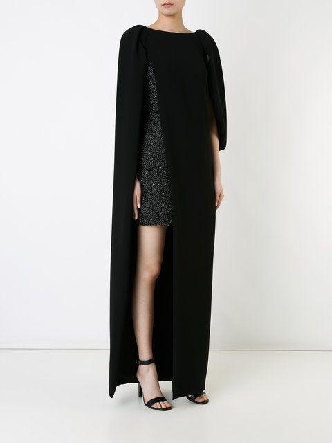 Monique Lhuillier многослойное платье