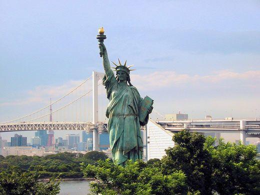 Odaiba Statue of Liberty – Tokyo, Japan - Atlas Obscura