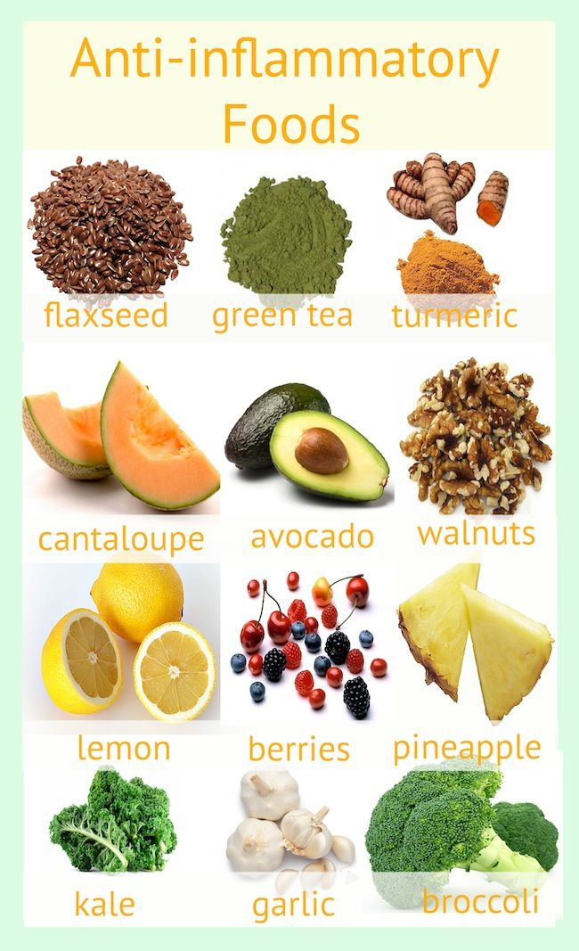 Did you know that food can be a natural anti-inflammatory?  Many common foods can help with inflammation.