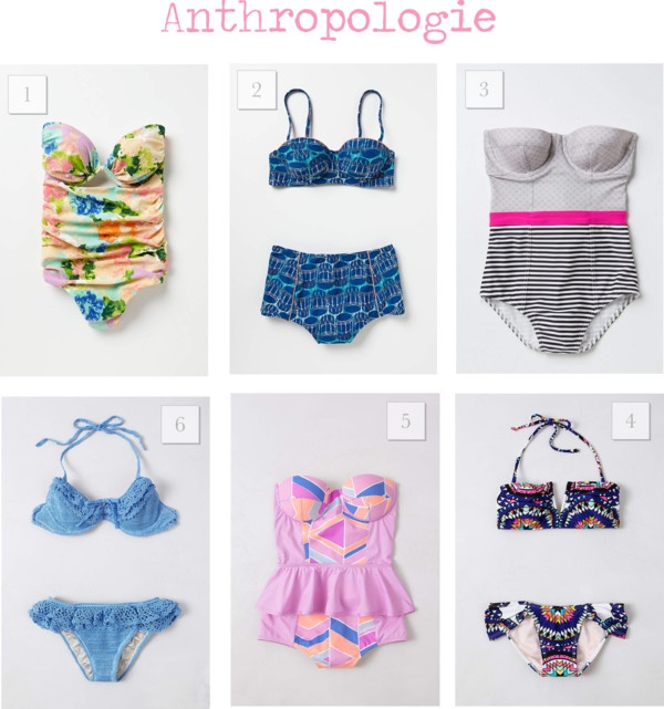 Leopard Martini: {Swimsuit Edition} My favorite styles from @Anthropologie ! #anthropologie #swimwear