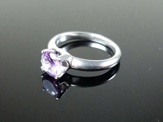 Hey, I found this really awesome Etsy listing at https://www.etsy.com/listing/502256140/amethyst-birthstone-solitaire-in