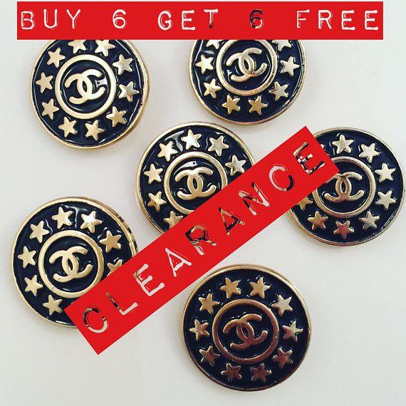 Buy 1 Set Get 1 Sale Free Sale Set x 6 22mm Vintage Estate