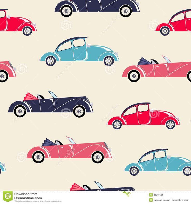Image from http://thumbs.dreamstime.com/z/retro-cars-seamless-pattern-children-textile-wallpapers-31810621.jpg.