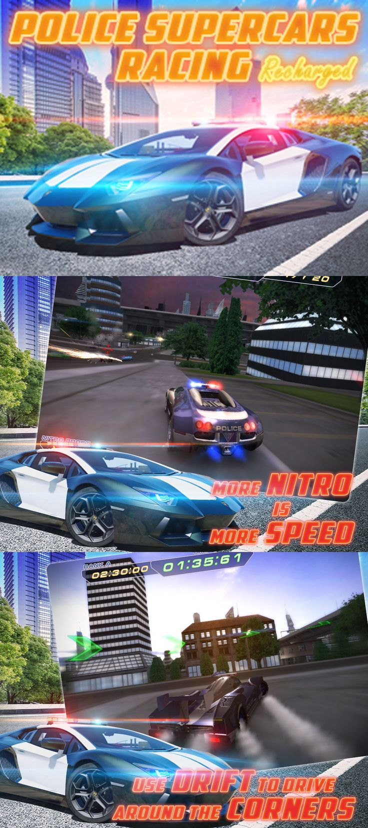 Police Supercars Racing Recharged Game Download Cool Photos Cool Pictures Love Photos