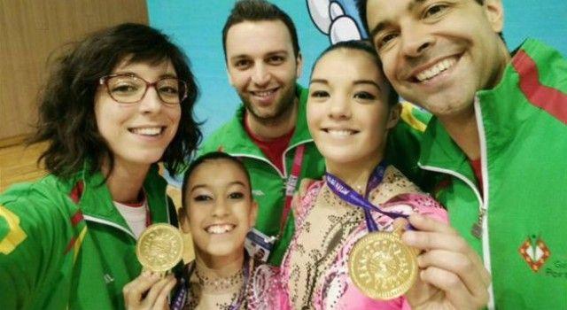"""Mundial de Ginástica Acrobática: Portugal conquista """"Ouro"""" e 3 """"Bronzes"""""""