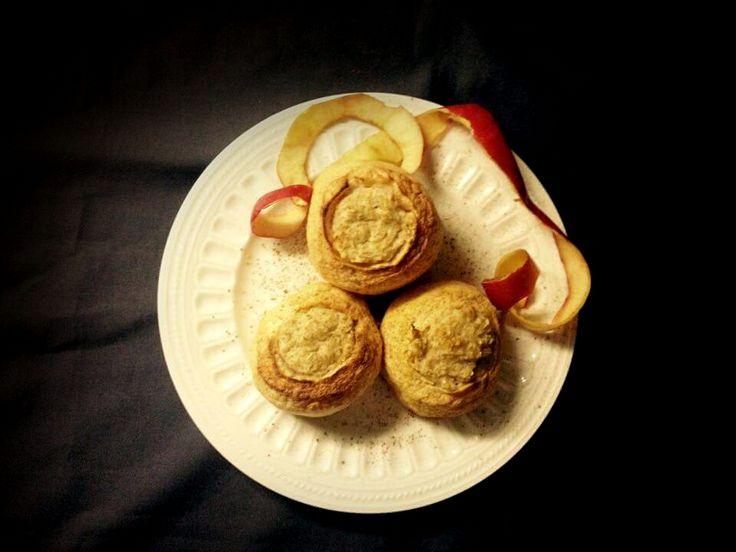 Finomságok Nikitől: Almában sült fahéjas zabkása
