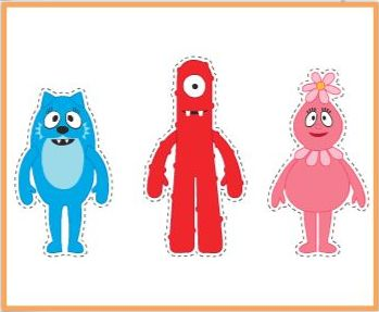 164 Best Images About Yo Gabba Gabba Party On Pinterest