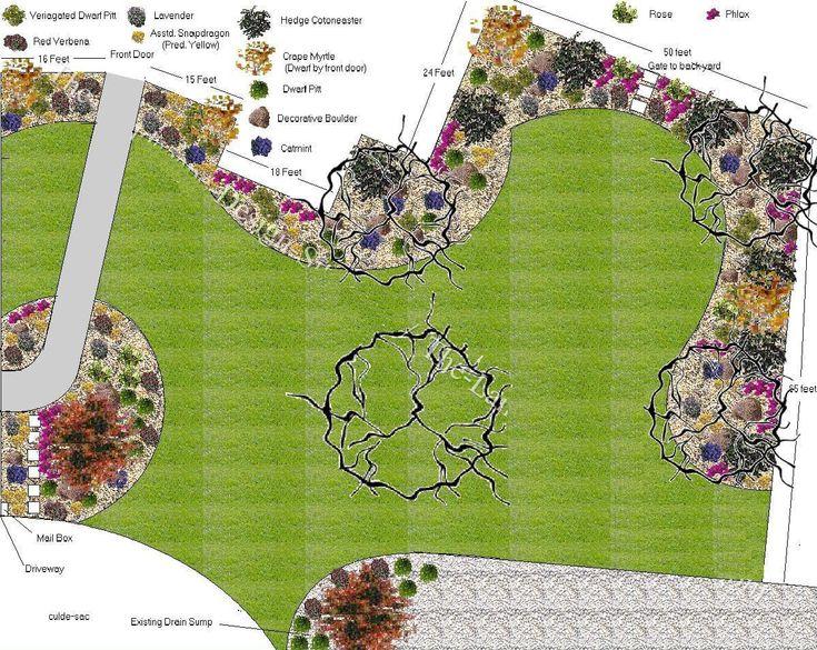 Attractive Plan For Big Front Yard Landscape Part 29