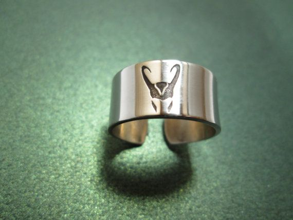 Loki ring... I MUST get this!!!!!
