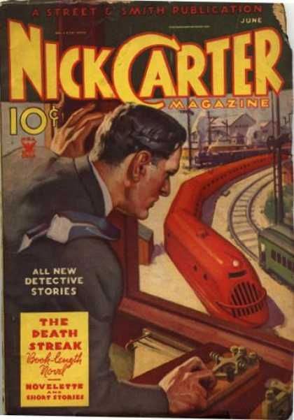 An image of the world's greatest detective playing with the world's largest train set does not constitute an exciting cover.