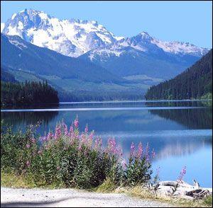 Summer season in Whistler, British Columbia, Canada  #CDNGetaway