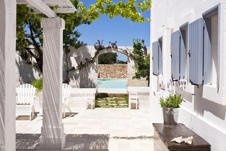 Lamia Bianca - villa with pool in Puglia, near the beaches
