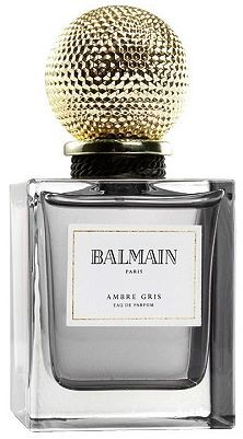 Ambre Gris by Pierre Balmain is a warm, spicy, balsamic Oriental Woody fragrance with top notes that include pink peppercorn, benzoin, cinnamon and myrrh.  Middle notes include tuberose and immortelle.  The base is amber, benzoin, guaiac wood and musk. - Fragrantica