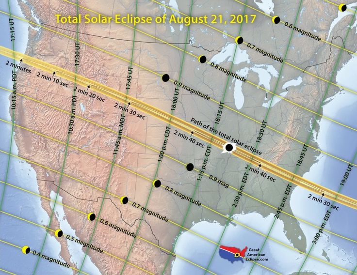 Solar Eclipse 2017: Traffic and Weather Forecasts for States in Totality