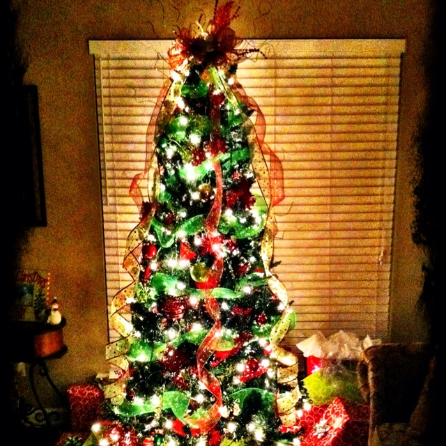 17 Best Images About Lime And Red Christmas Tree On