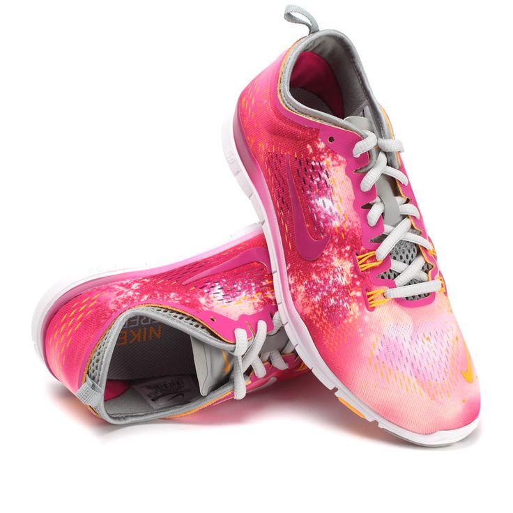 #esty Nike Free 5.0 Tr Fit 4 Breath Womens Flash Camo Red Light Grey 629832