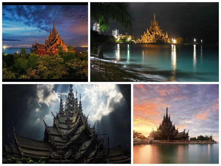 Thailand's Temples and Showing Respect Sanctuary of Truth Pattaya