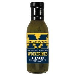 Michigan Wolverines NCAA Lime Grilling Sauce - 5oz