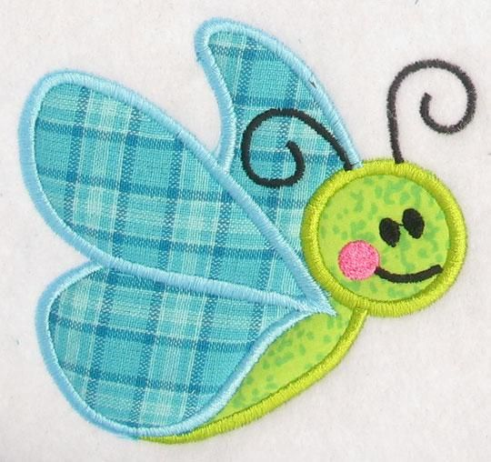 Free Applique Designs | ... time butterfly embroidery designs. Easy two piece applique design