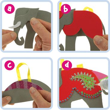Diwali Elephant | Craft Ideas at Patticrafts