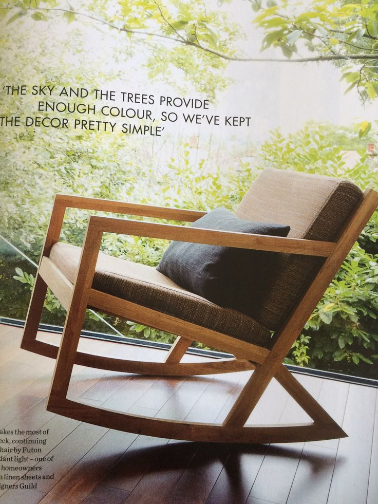 Futon company rocking chair