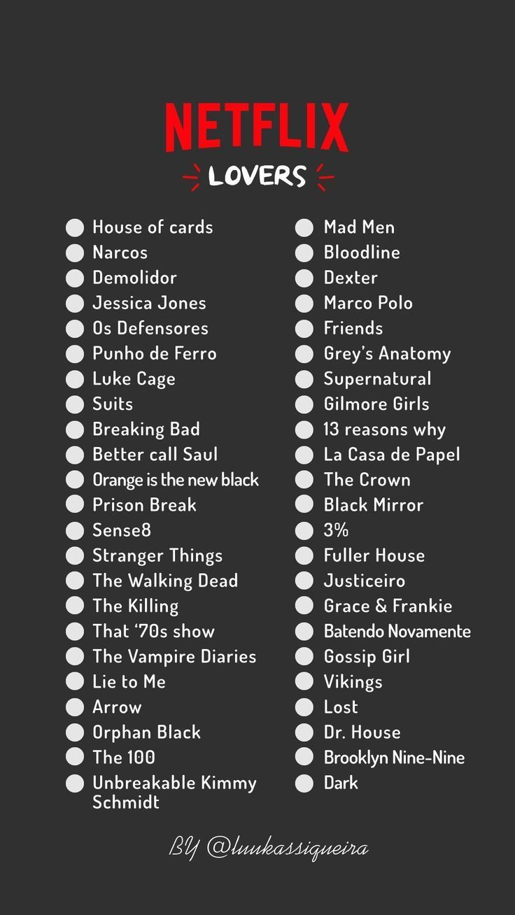 Series and movies that you need to watch on Netflix