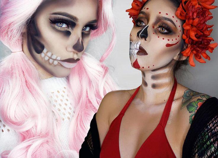 50 Terrifyingly Creative Halloween Makeup Ideas To Try