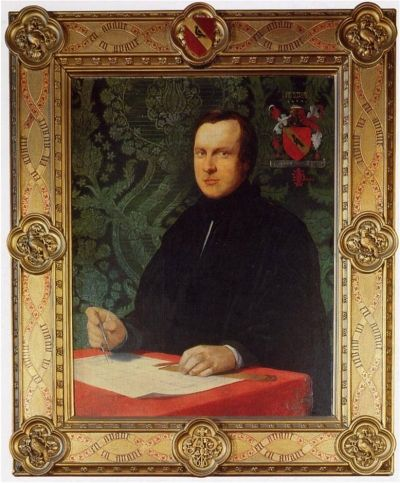 The man behind Gothic Revival, creator of many of Britains churches ~ Augustus Welby Northmore Pugin