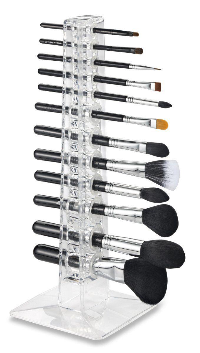 Porte-brosse acrylique Organisateur & Beauty Care fournit 12 individuelle…