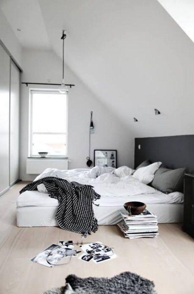 die besten 25+ schlafzimmer dachschräge ideen auf pinterest - Schlafzimmer Einrichten Mit Dachschrgen