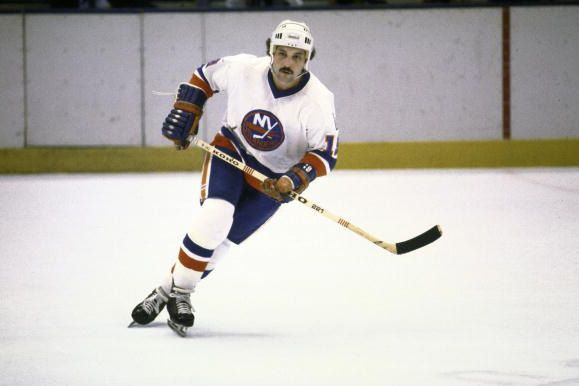 Bryan Trottier recorded 1,353 points with the Islanders in 1,123 career games and set several NHL records (many surpassed only by Wayne Gretzky) and won the Calder Memorial Trophy in 1976, Hart Memorial Trophy and Art Ross Trophy in 1979, and the King Clancy Memorial Trophy in 1989. Trottier entered the Hockey Hall of Fame in 1997.