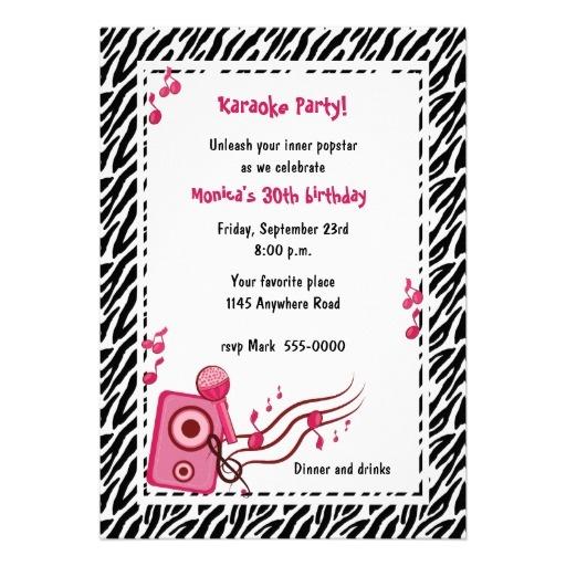 Birthday Invitations 40th