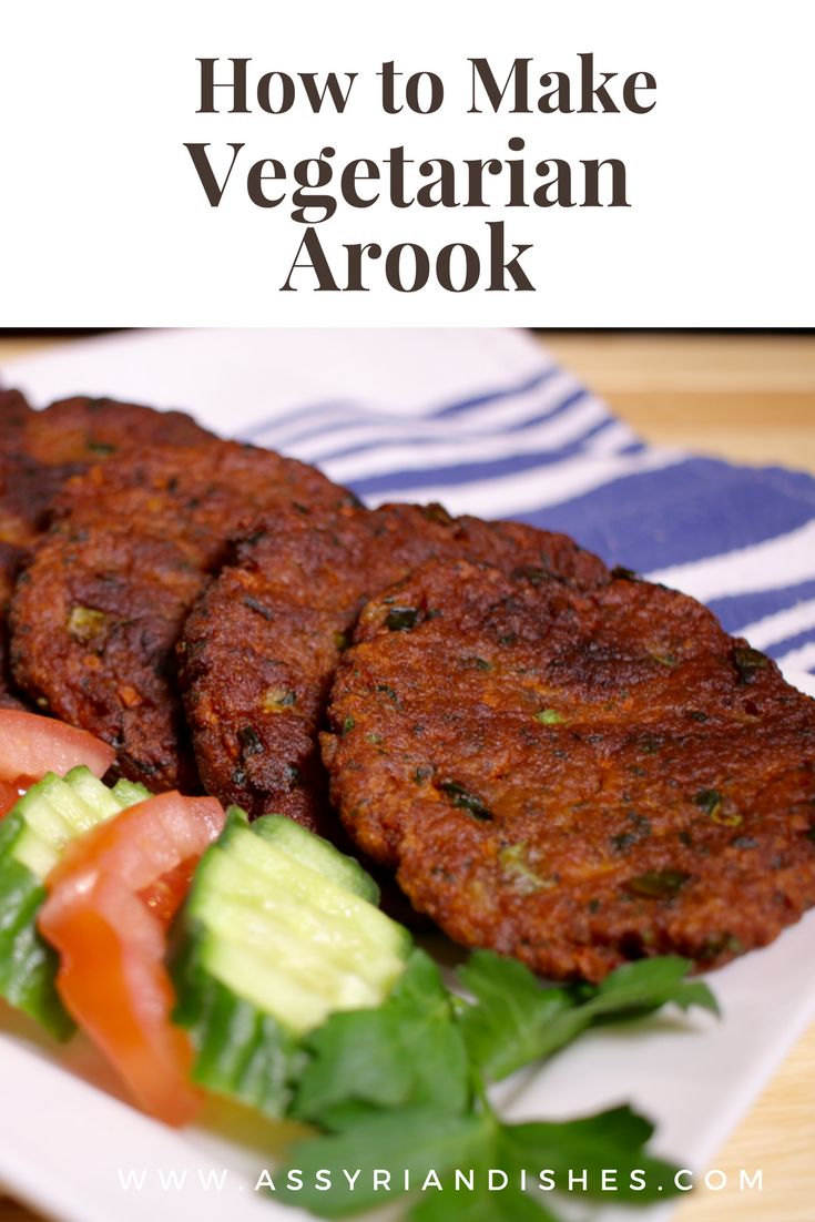 Learn How to make Vegetarian Arook with Assyrian Dishes!