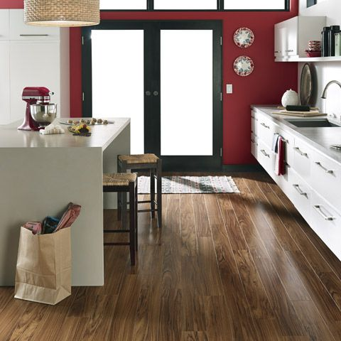 Timber Laminate Flooring Kitchen