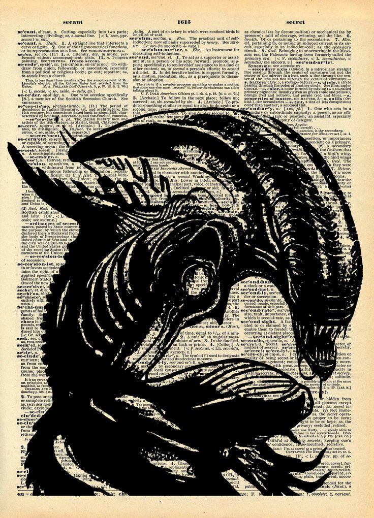 Serie Cinehorror - stampa Alien