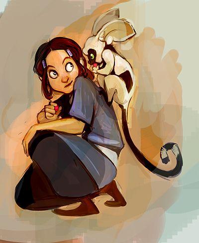 Katara and Momo